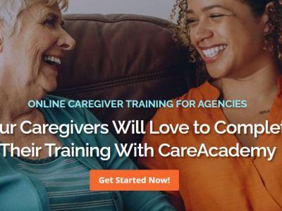 care academy homepage
