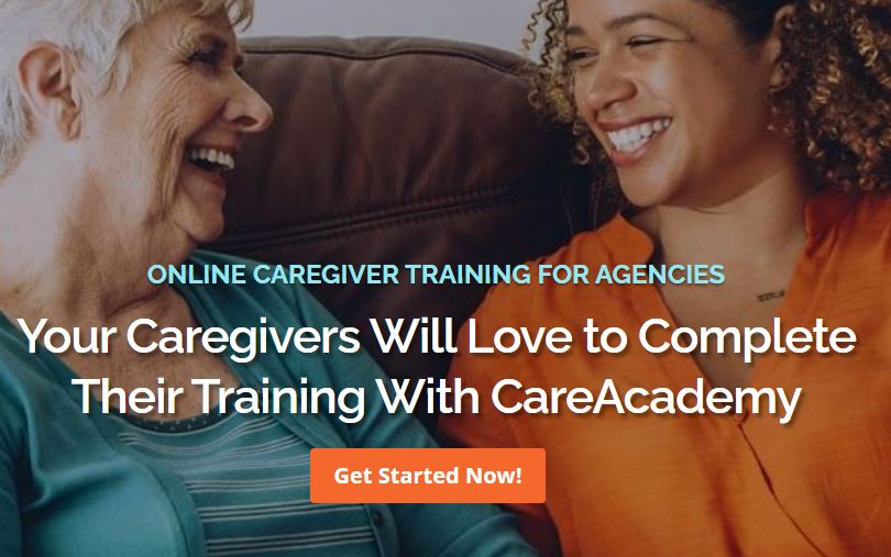 care academy homepage